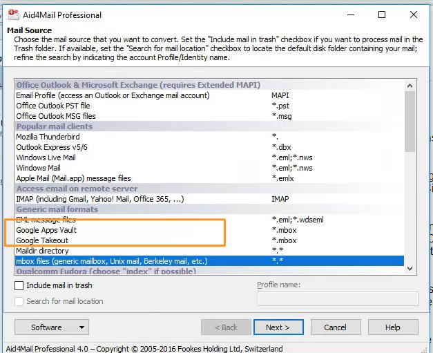 Google Vault exports MBOX files — Umzuzu Cloud Services