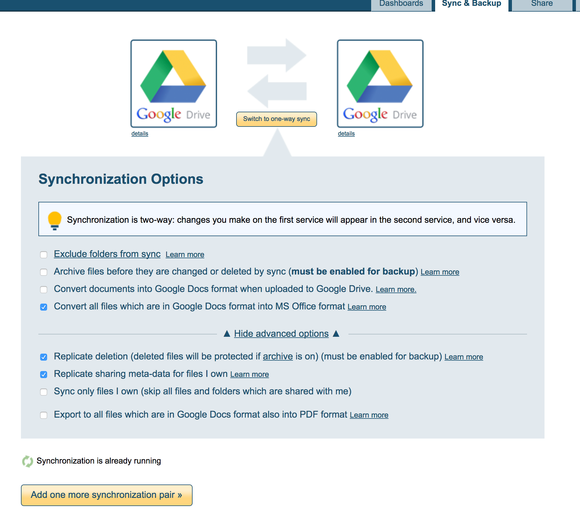 sync_personal_Google_Drive_to_corporate_account