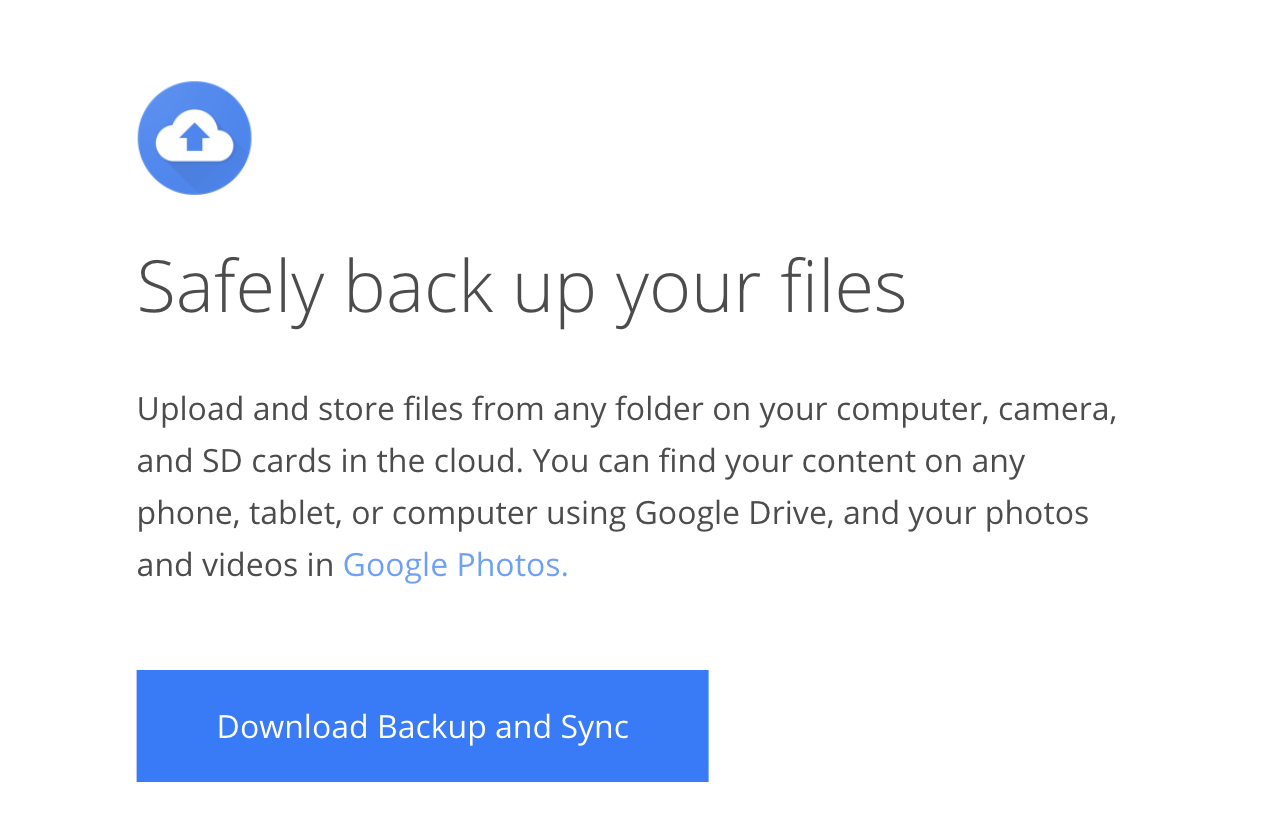 Teach your Windows Server some new tricks with Google's Backup