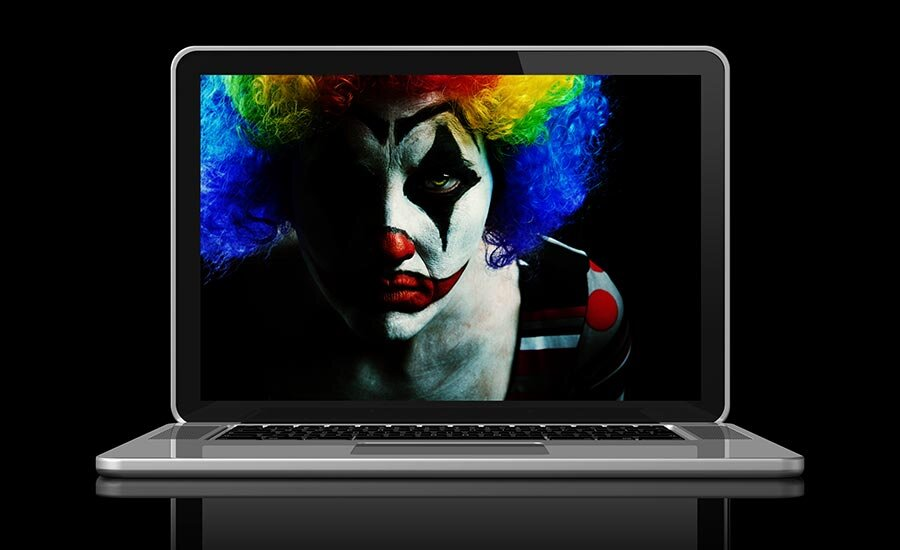 Hey - it's the scary internet clown and he might be able to see your Google Calendar!