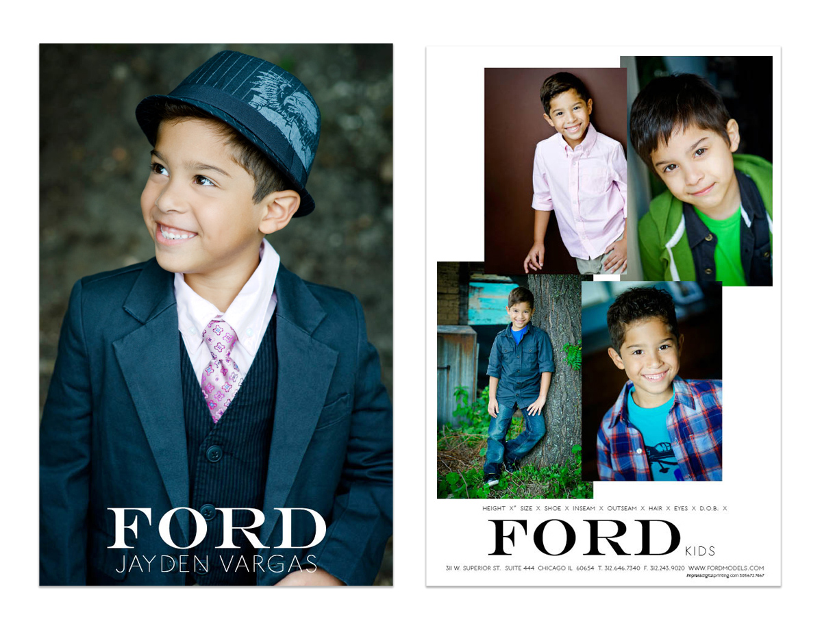 Boy Comp Cards — Nicole Thomas Photography