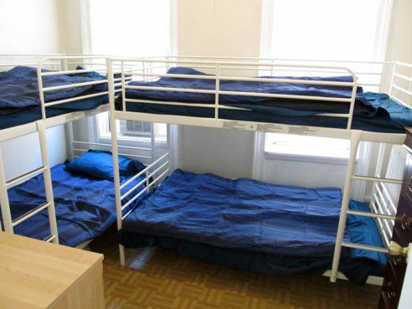 "Upper West Side, Manhattan. $649.00 - ""One bed in shared room with 3 other girls. There are bunk beds."" - ""The space is small, but the rent is only $649 per month"""