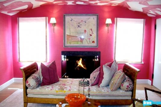 Amber Valetta's bedroom designed by JAM