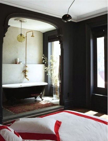 Jenna Lyons' old bedroom from Living Etc