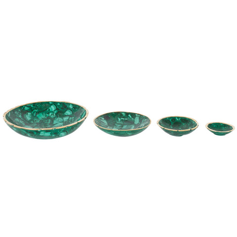 Hillary Thomas -  Malachite Bowls