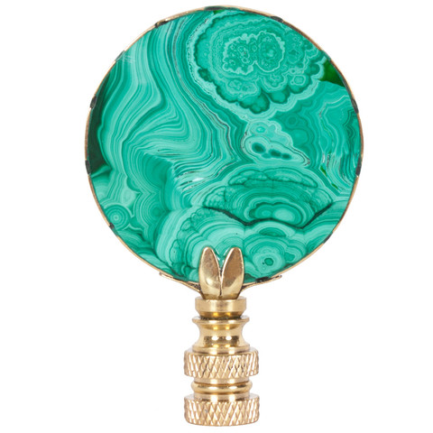 Hillary Thomas -  Malachite Lamp Finial  $75
