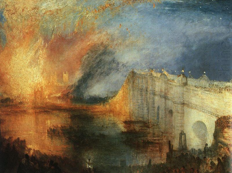 Turner - Burning the House of Parliaments