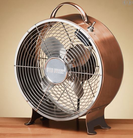 $50   Retro Metal Fan