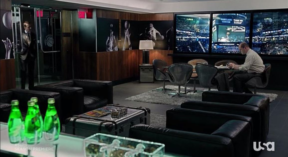 Suits - Season 2, Episode - The office of someone who owns a sports team somewhere in New York.