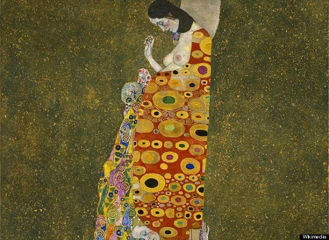 """Klimt """"Hope II"""" 1907-1098"""