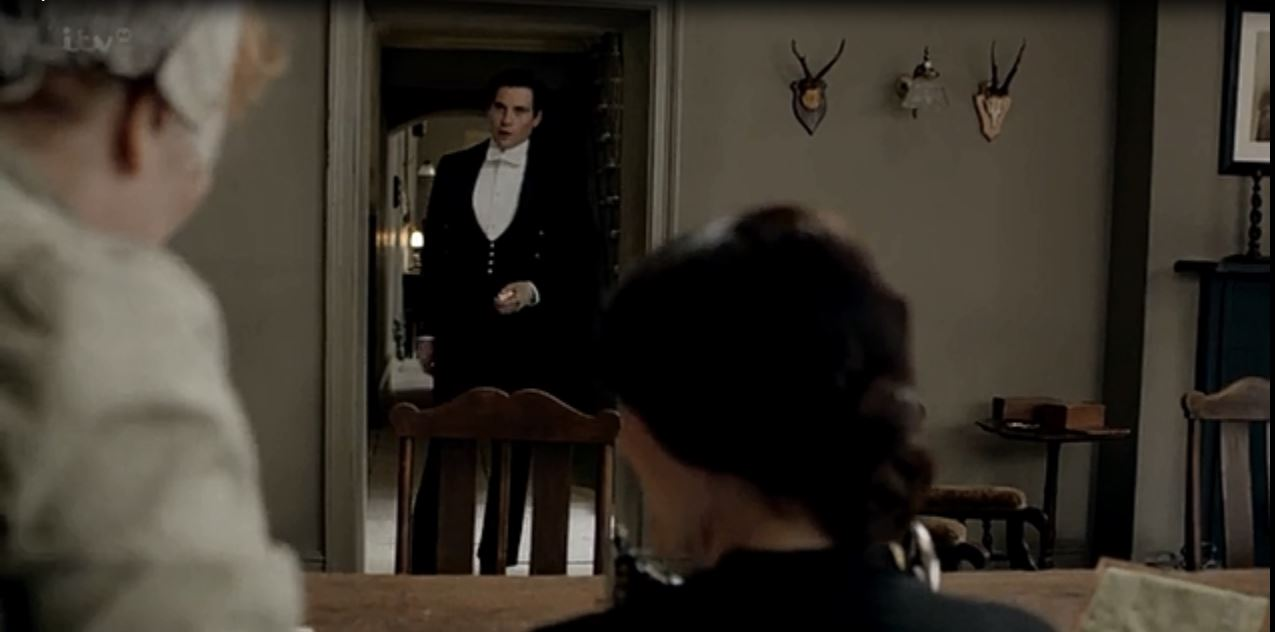 Downton Abbey: Season 3 - Staff dining/other-stuff room