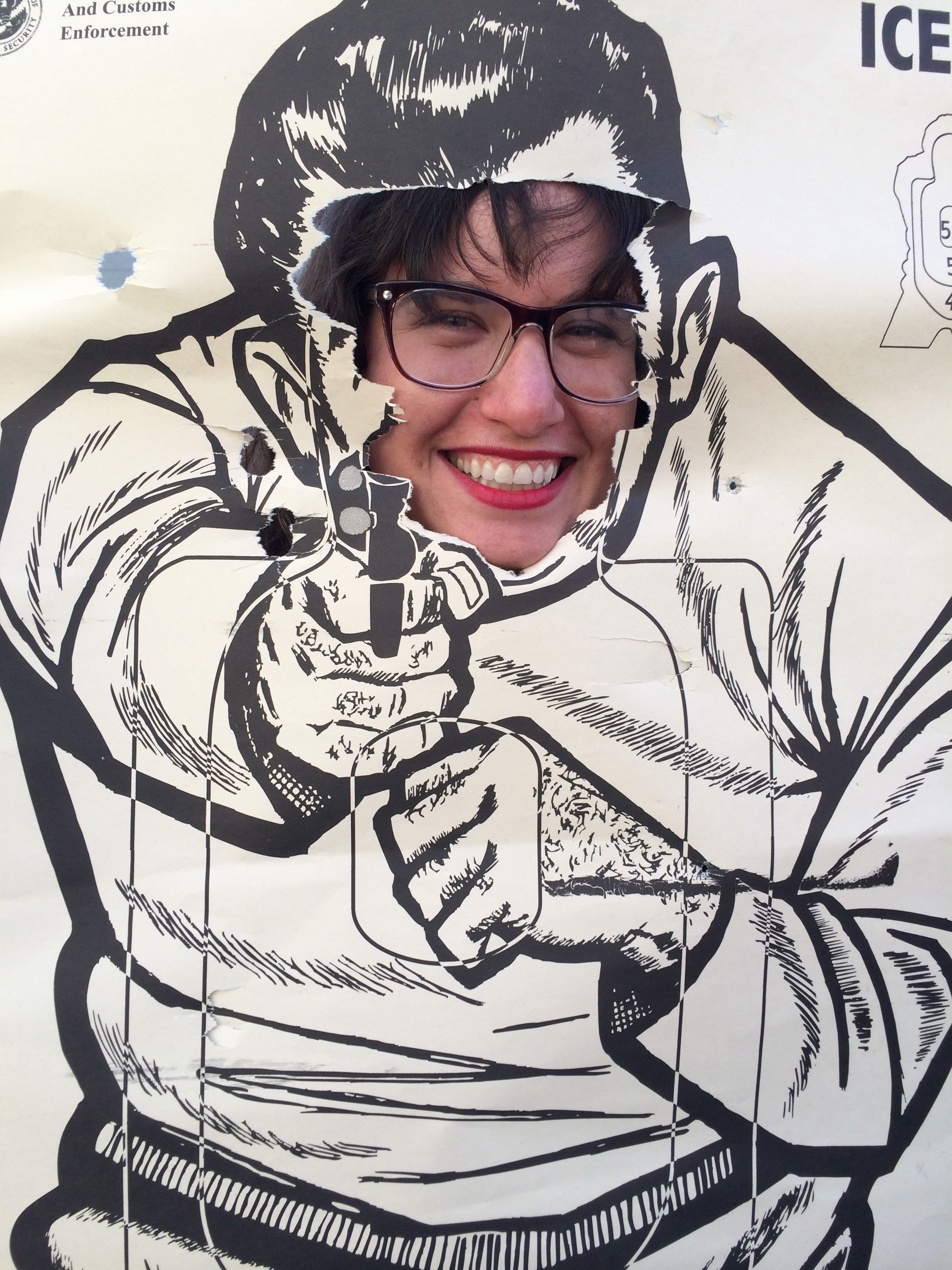 My trip to LA Gun Club taught me I am not good with a hand gun.