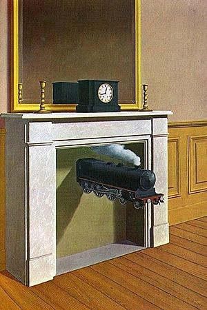 Rene Magritte - Time Transfixed