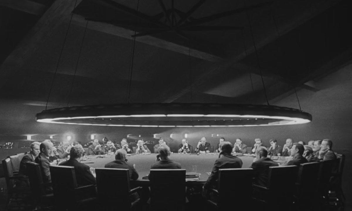 Dr. Strangelove (1964) - Director: Stanley Kubrick, Production Designer: Ken Adam