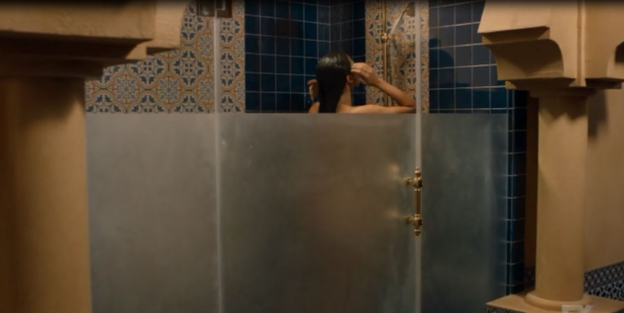 Tyrant: Season 1, Episode 3 - a shower stall seduction