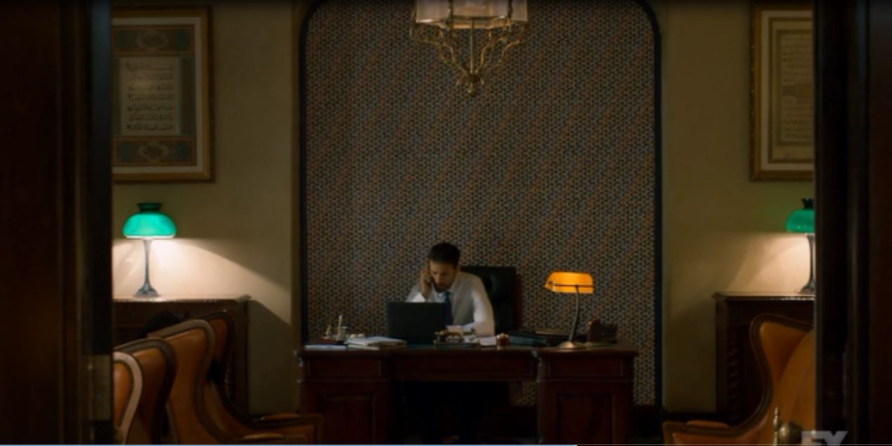 Tyrant: Season 1 - Office of the brother of a psychotic dictator.