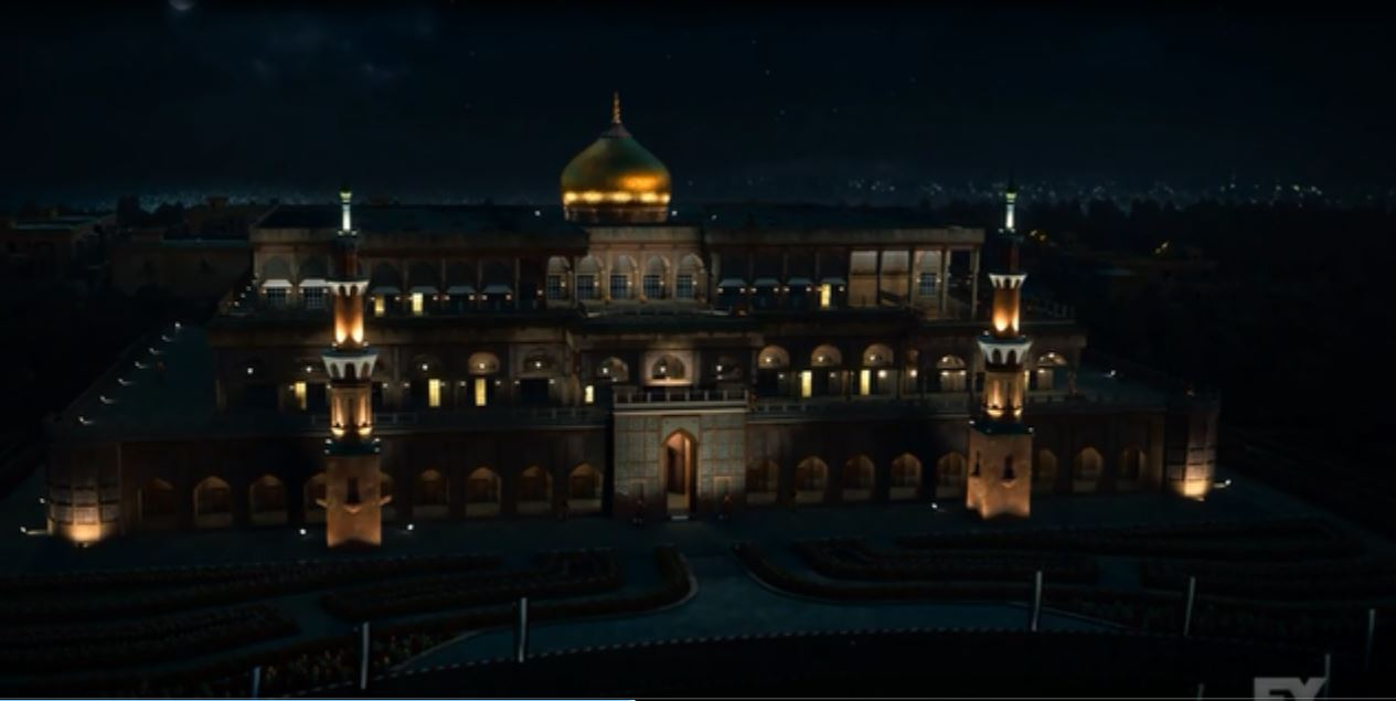 Tyrant: Season 1 - The palace at night