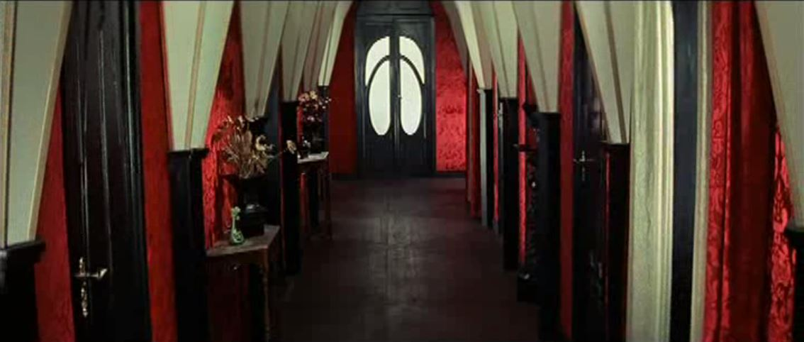Suspiria (1977) - The hallway of a European ballet school, inside a nightmare.