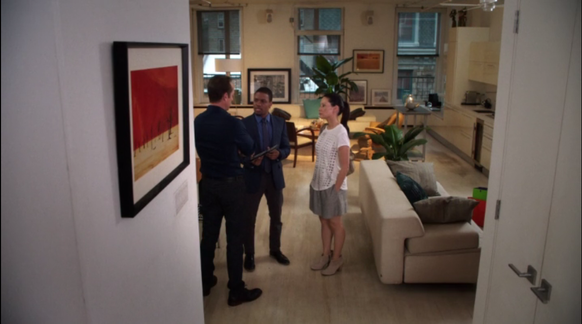 Elementary: Season 3, Episode 1 - Jane Watson's new bachelorette pad.
