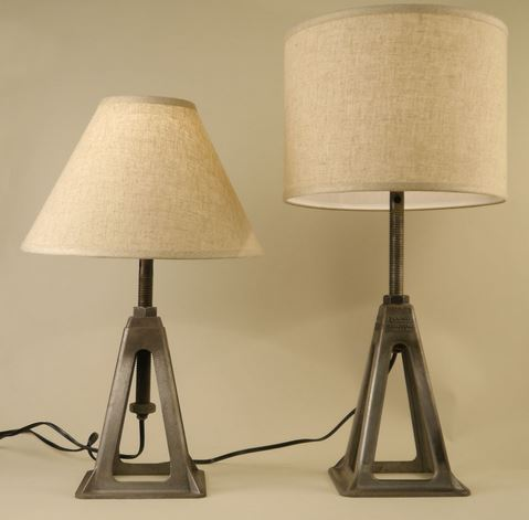Conant Car Jack Table Lamp $285
