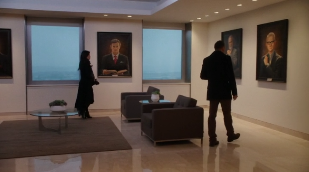 Elementary: Season 3, Episode 13 - Law firm waiting room.