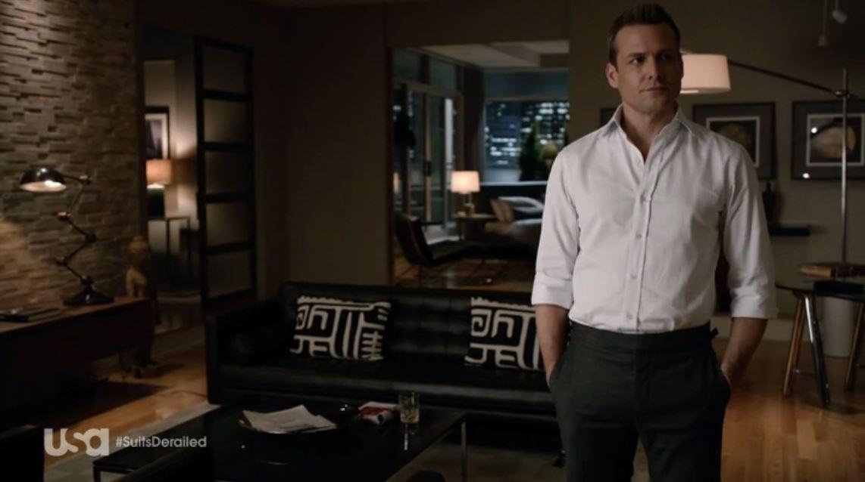 Suits: Season 4 - Harvey's slick bachelor pad