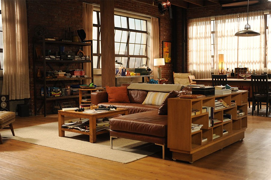 New Girl - Classier living room than any of those clowns could have put together themselves.