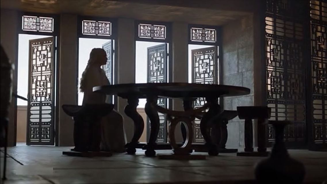 Game of Thrones: Season 5, Episode 4 - The Khaleesi's chambers in Meereen
