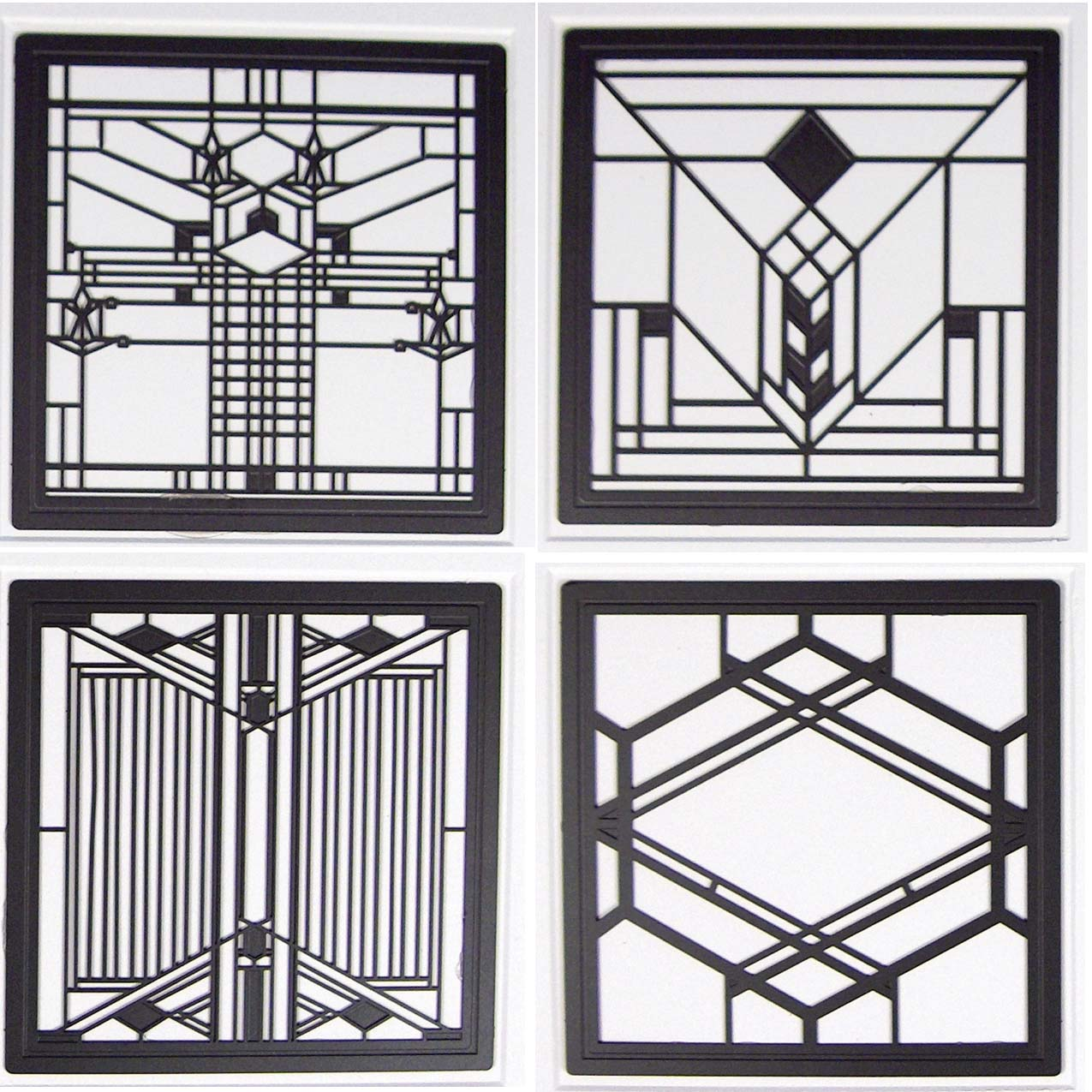 Frank Lloyd Wright costers