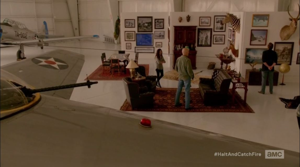 Halt and Catch Fire: Season 2, Episode 2 - Oil baron's man cave