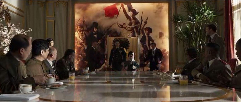 X-Men: Days of Future Past - Parisian conference room.