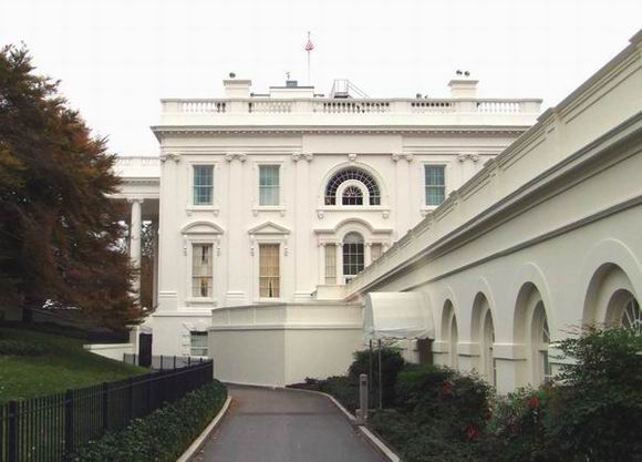 White House, West Side