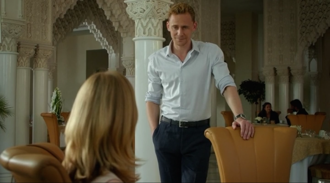 The Night Manager: Season 1, Episode 6 - .....I can't think of anything to write here because I find the man in the foreground too distracting.