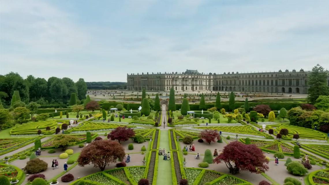 Versailles + Drummond Castle garden