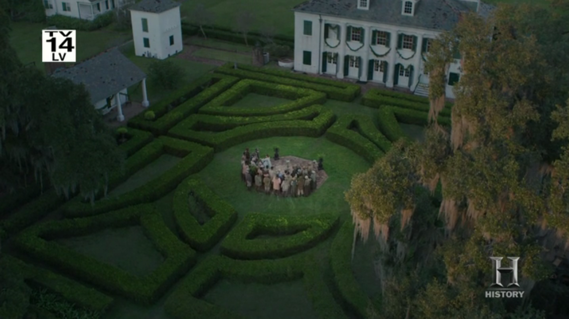 Roots miniseries, episode one - A beautiful plantation that I can take little pleasure in.