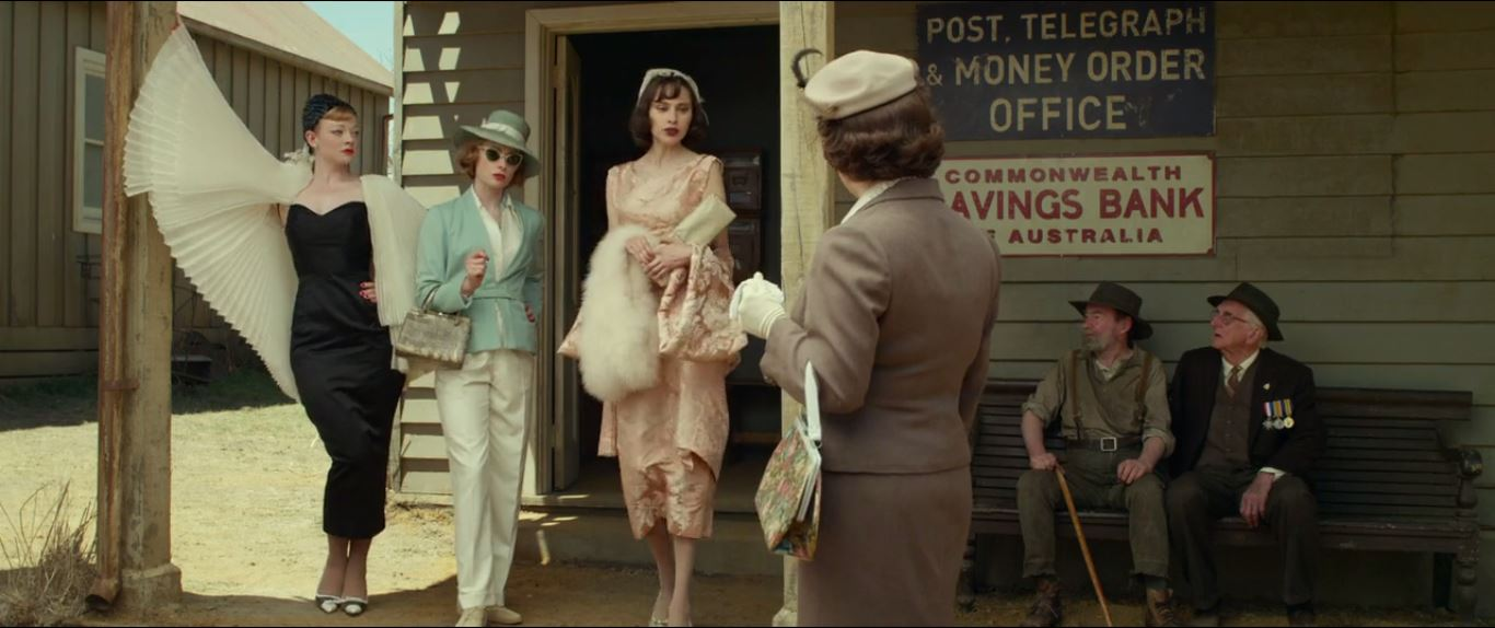 """The Dressmaker - """"Oh don't mind us. We're just doing our morning errands"""""""