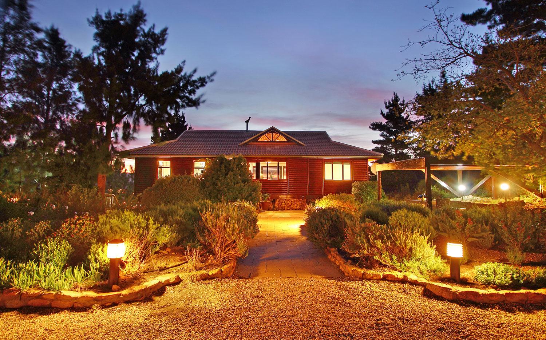 Phezulu Lodge enjoys view over False Bay