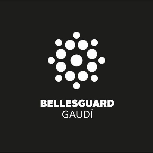 Bellesguard Gaudi Logo  Graphic design: Ars Satèl·lit  Year: 2012  #20yearsarssatellit  #graphicdesign #design #logo #brand #symbol #bellesguardgaudi