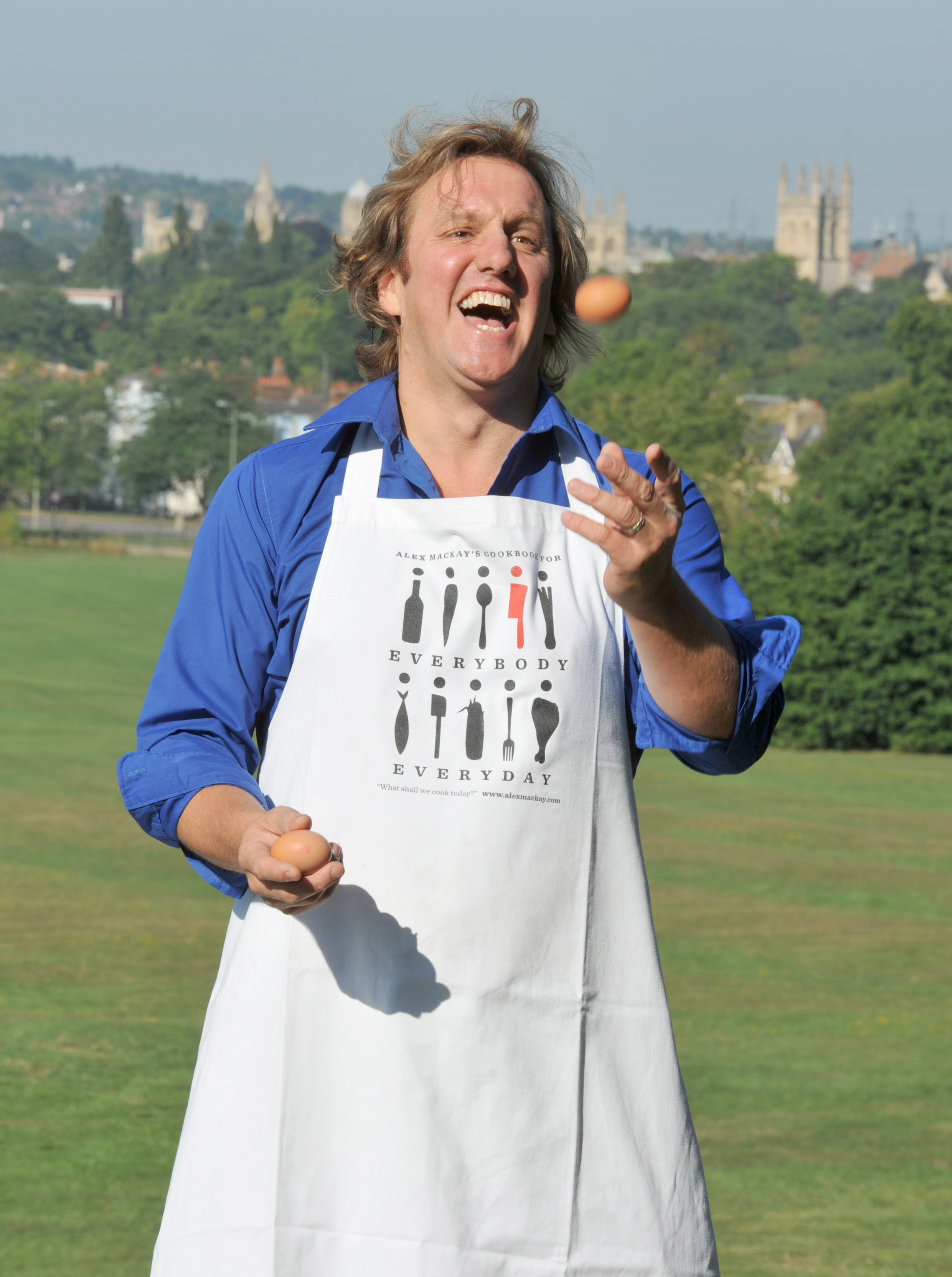 Alex McKay launched Oxford Foodies