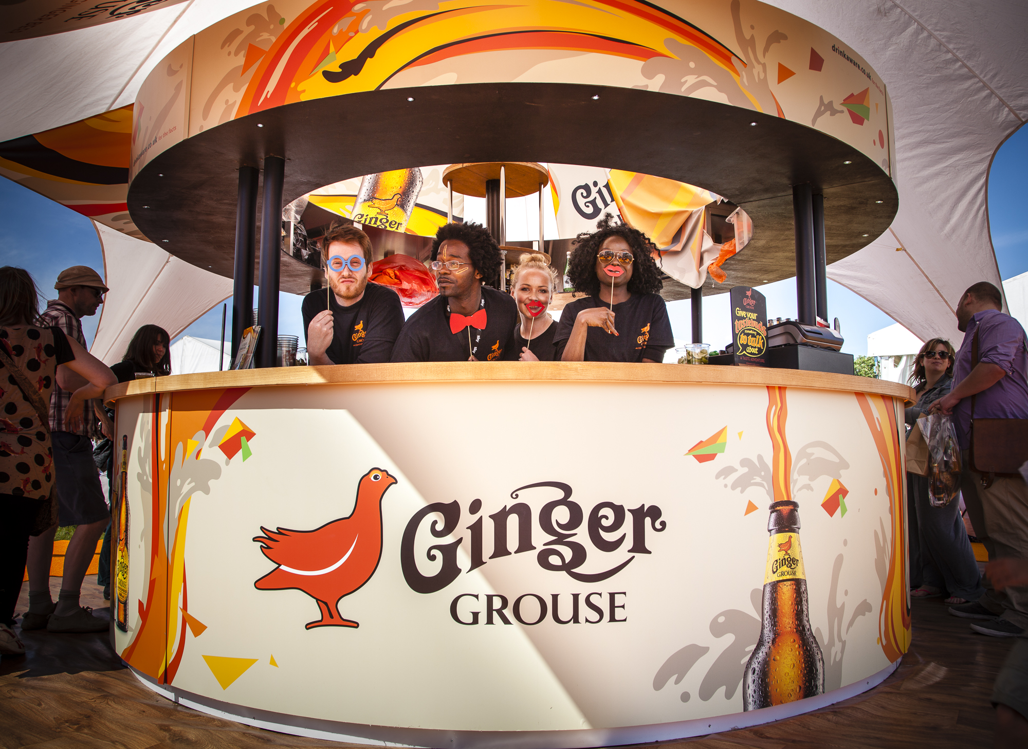 The nation was introduced to Ginger Grouse