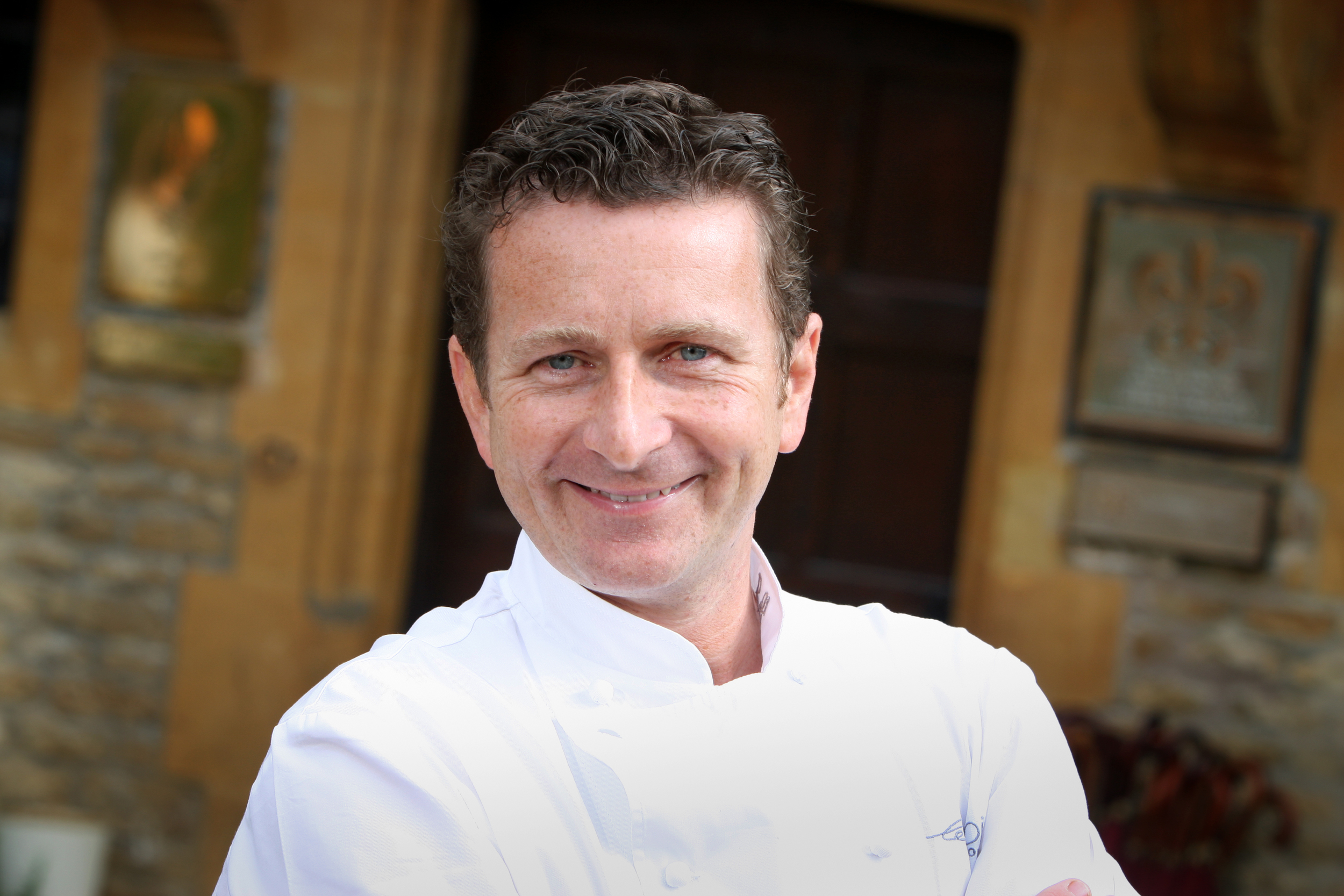 Gary Jones of Le Manoir shared his kitchen secrets in the Oxford Chefs' Theatre