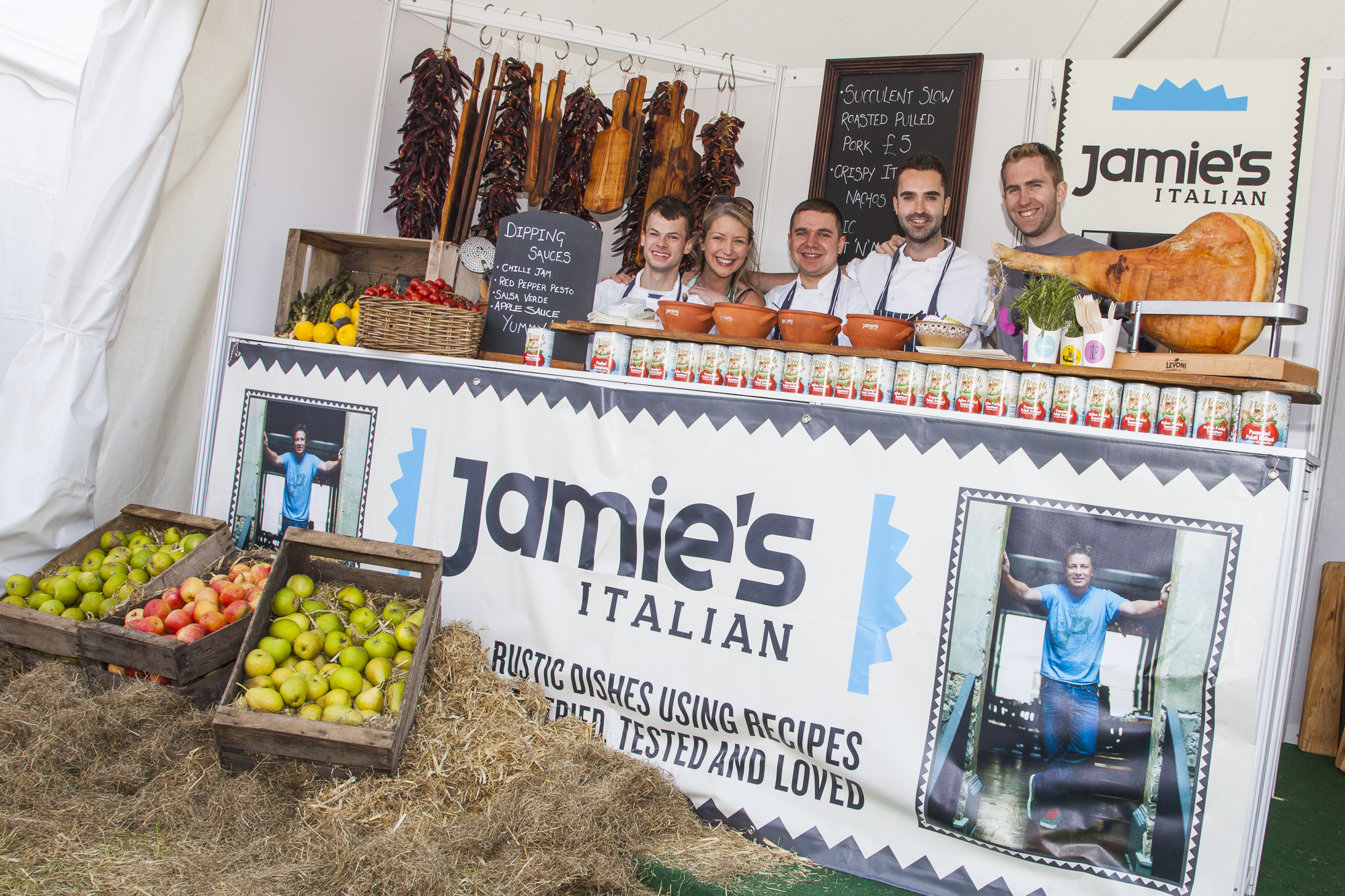 Jamie's Italian popped-up in Brighton and London