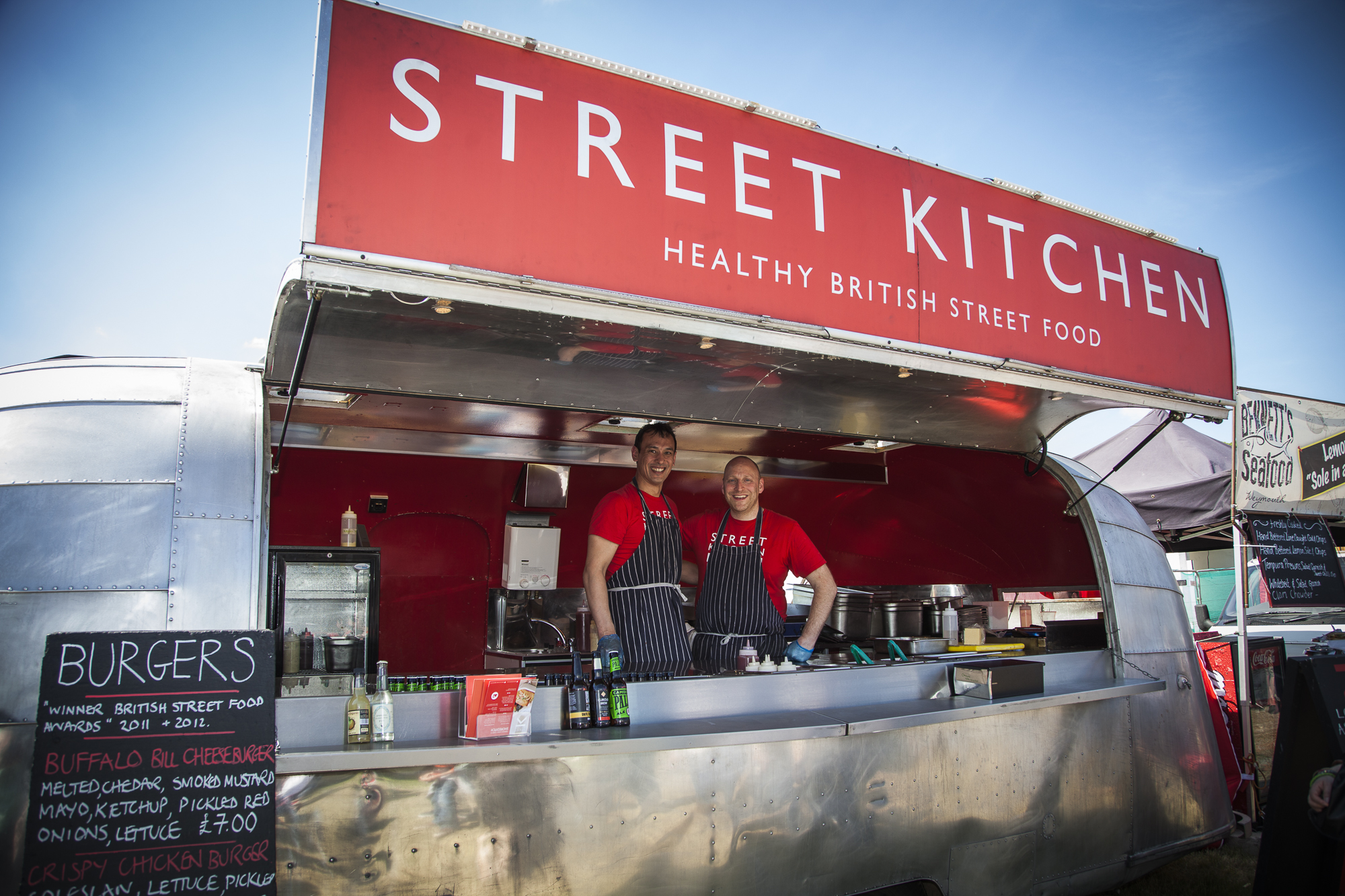 Jun Tunaka brought his Street Kitchen to Foodies' Street Food Avenue