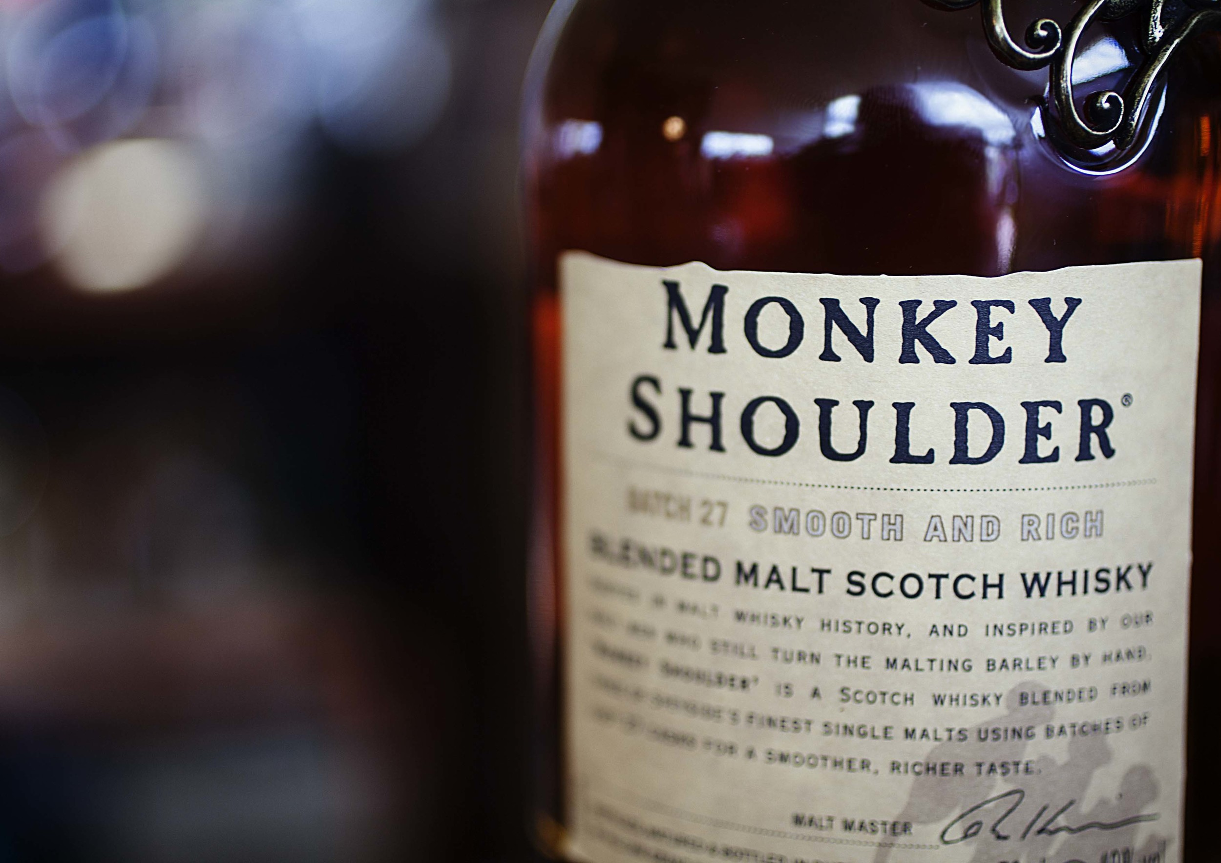 Were you at Foodies? Did you try a Monkey Shoulder?