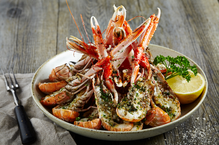 SEAFOOD0566Langoustine Herb Butter.JPG