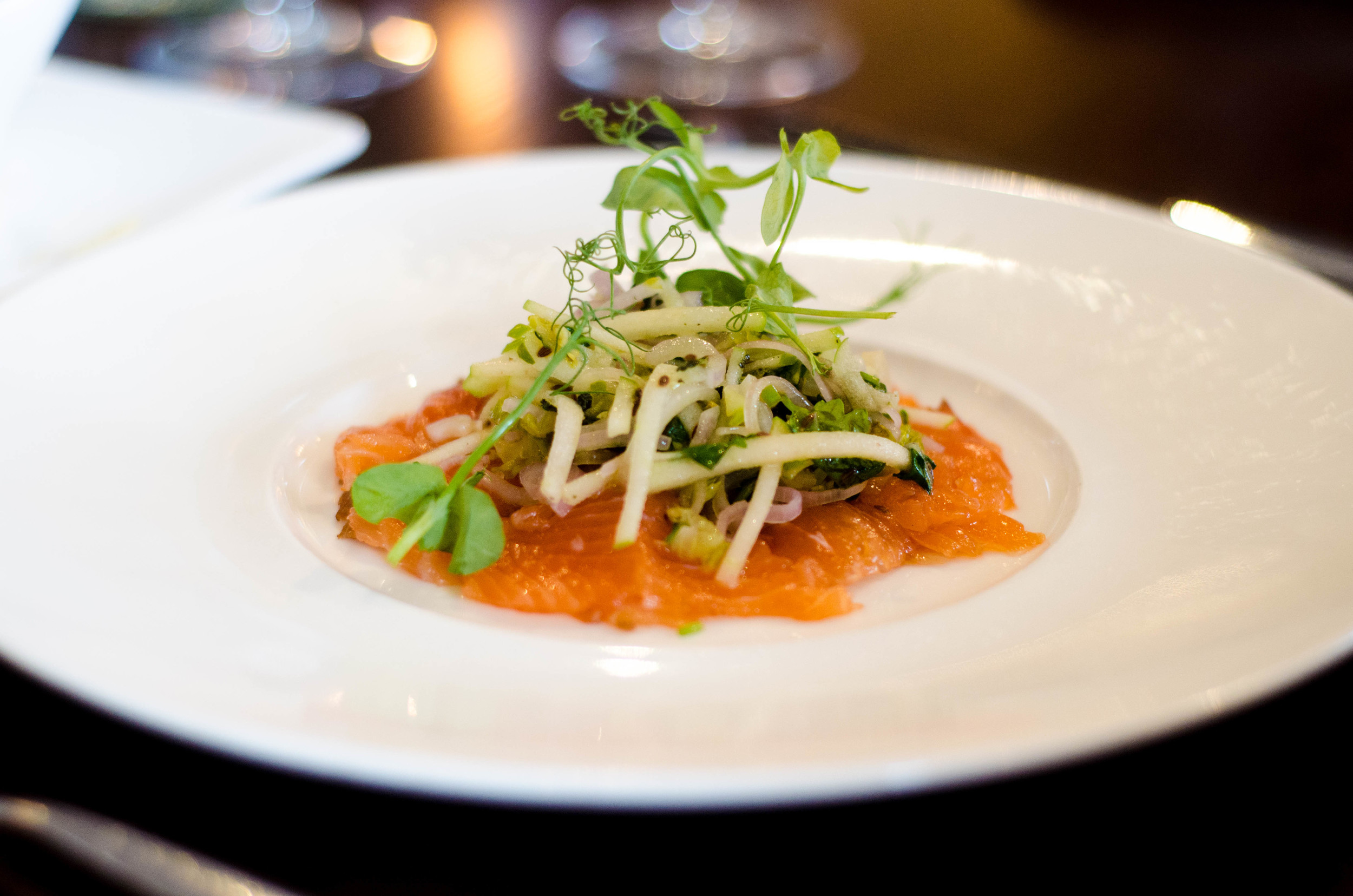 63 Tay Street Cured Salmon, Green Apple, Fennel .jpg
