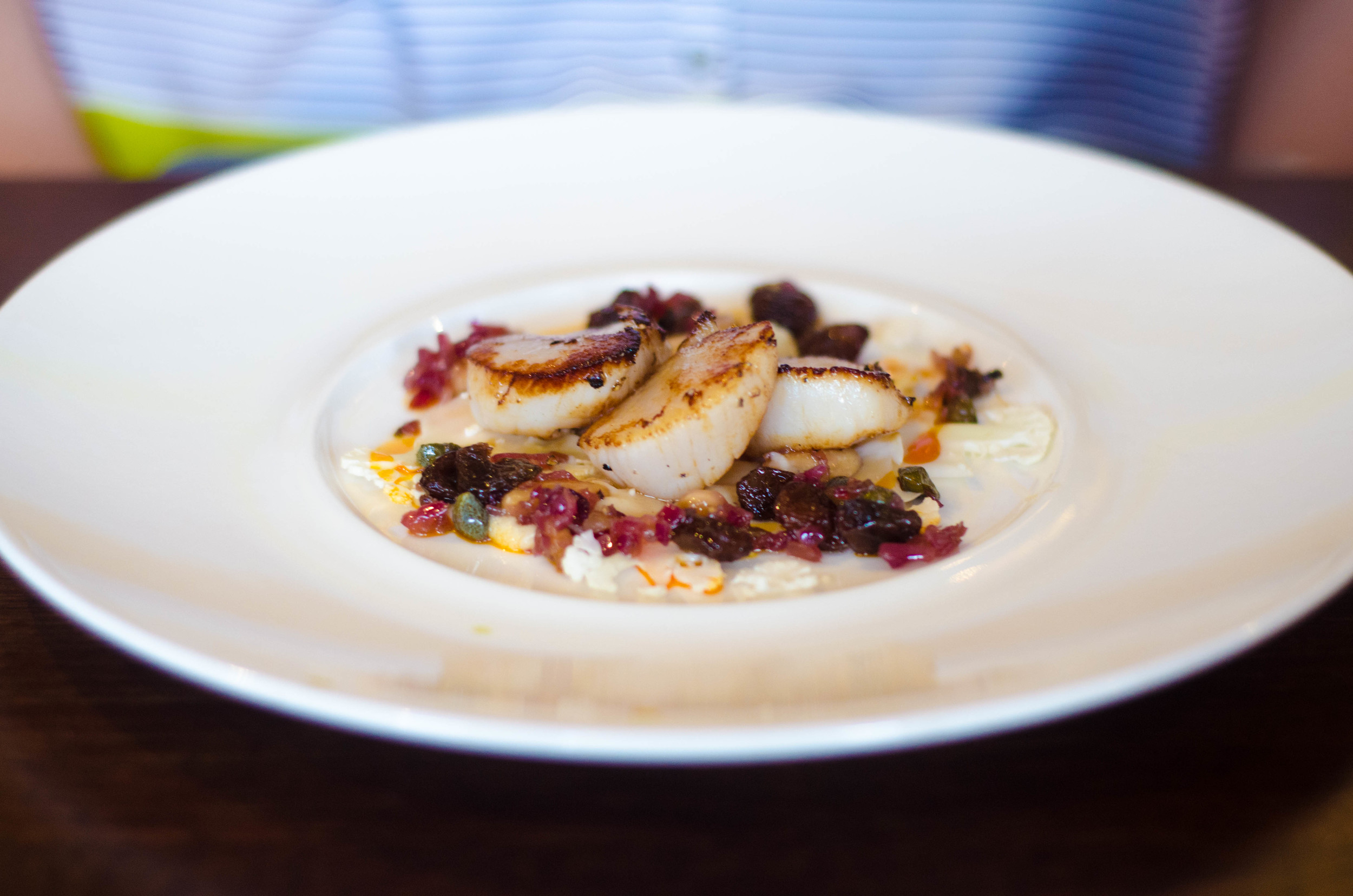 63 Tay Street Roast Scallops, Curried Cauliflower, almond salsa.jpg