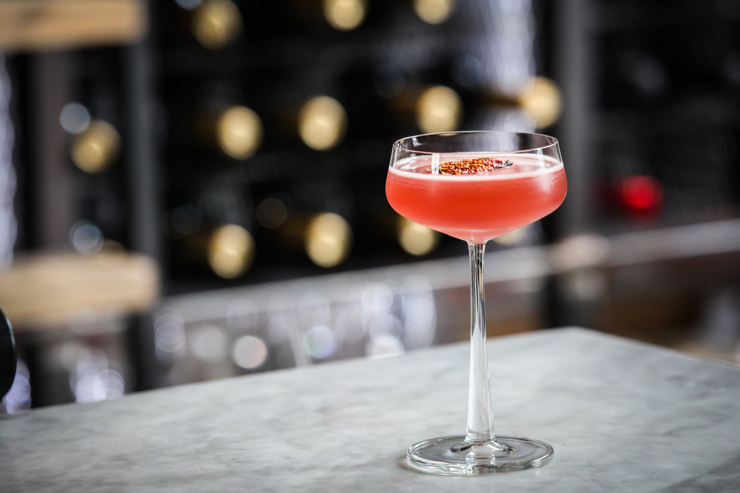 A Chop House signature serve cocktail