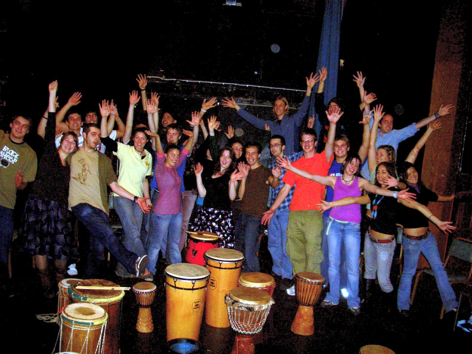 Edinburgh University Drum Society 2004-2012