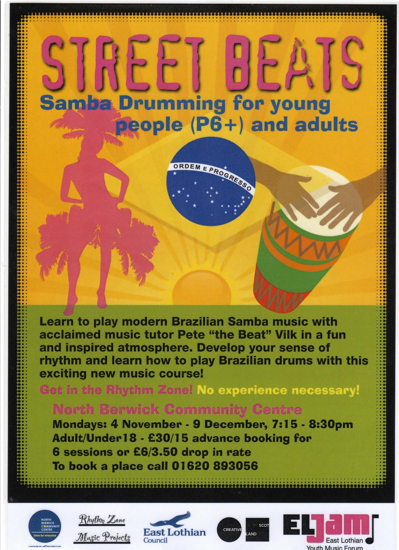 New Winter Samba Course 2013!